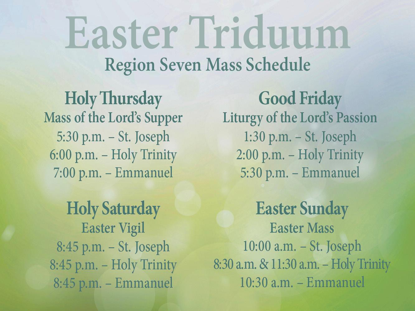 Easter triduum 19