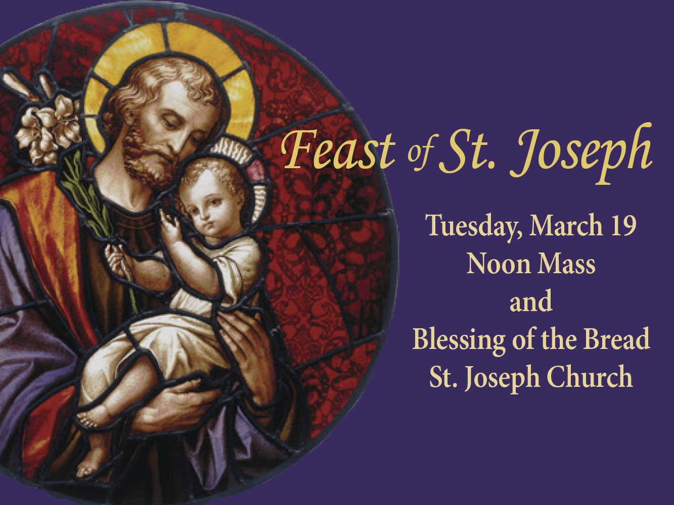 Feast of St. Joseph 2019