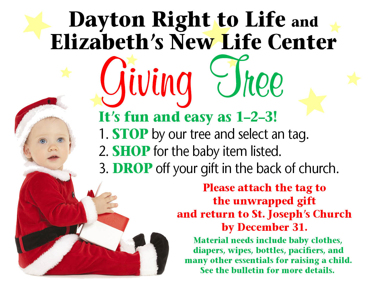 Giving Tree Advent 2017