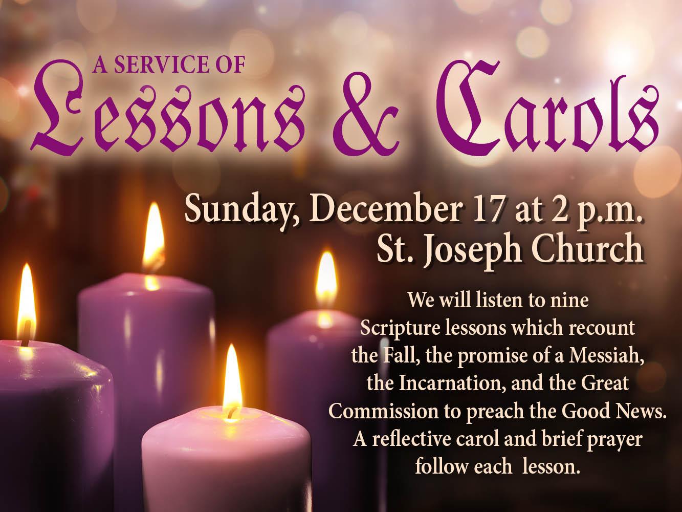 Lessons and Carols 2017
