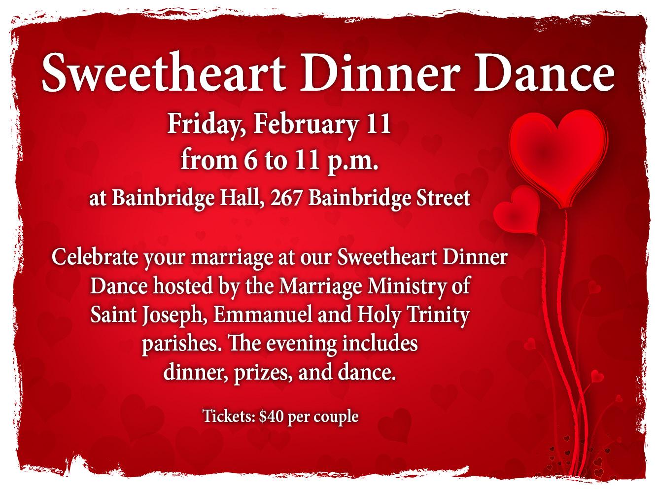Sweetheart Dinner 2017