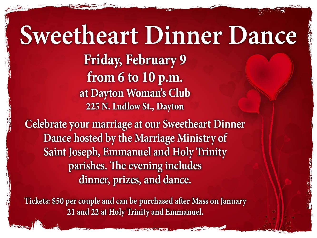 Sweetheart dinner 2018